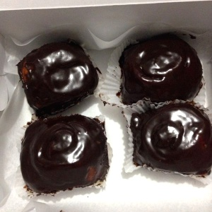 Rollos de chocolate