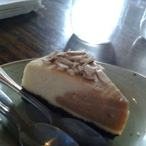 Cheesecake de praline
