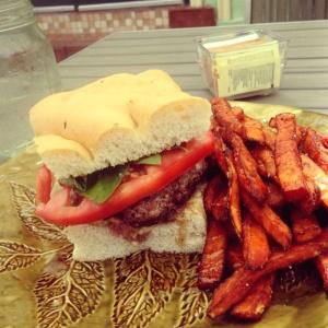 Rosemary Burger!!! Yummmm