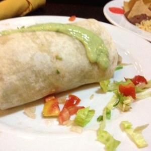 Burrito a la mexicana