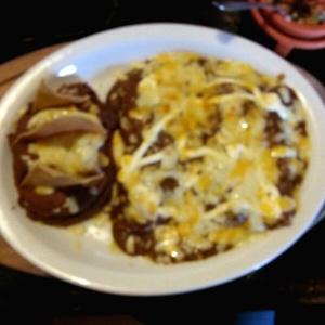 Enchiladas mexicanas con mole