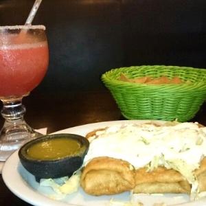 Tacos Rey y Margarita de Fresa