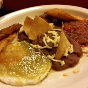 Desayuno mexicano. Buenisimo!!