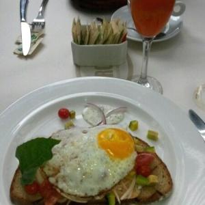 Tosta de  Trucha