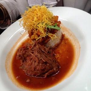 Carne Desmechada con cucayo