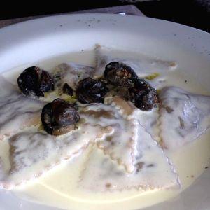 Torteloni trío de hongos con caracoles