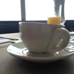 ...y otra deliciosa y bien presentada taza de café