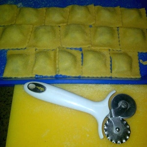 Pasta cacera artesanal