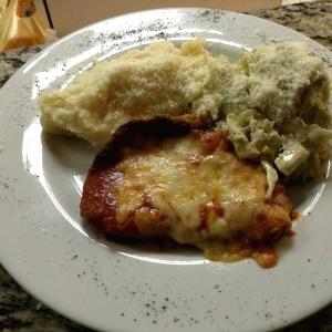 Milanesa de pollo a la Parmesana!!!!!
