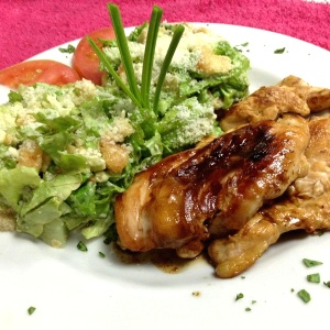Comida sana! Pechuga de pollo a la plancha